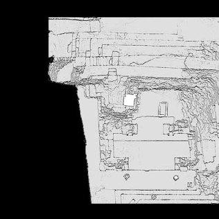 Temple 18 Copan - Maps & plans