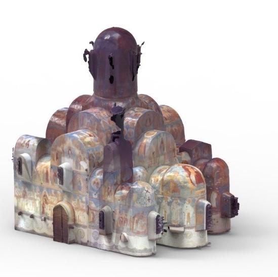Ferapóntov Monastery 3D Model