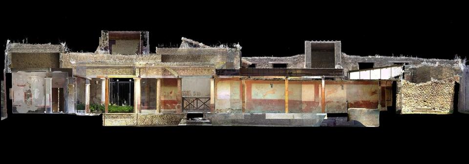 Pompei Casa si Lorei Tiburtino